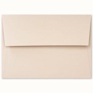 Dunstfarbenes Couvert für grosse Karten
