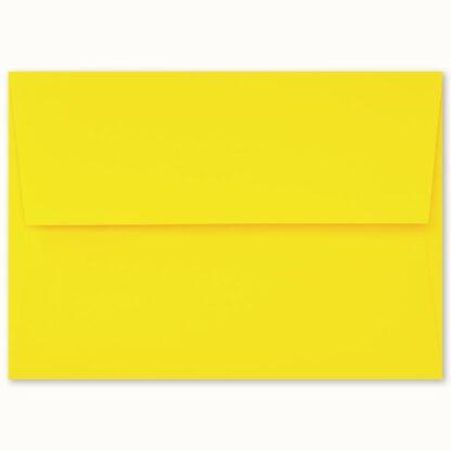 Gelbes Couvert für grosse Karten