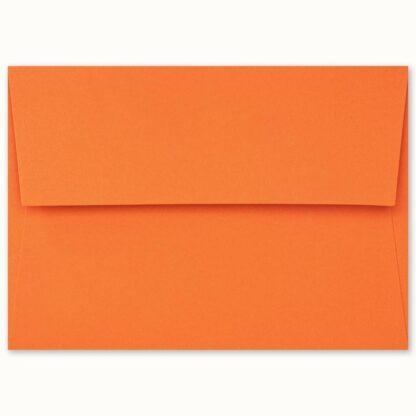 Oranges Couvert für grosse Karten