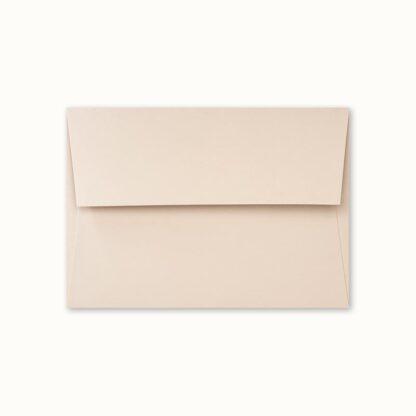 Dunstfarbenes Couvert für kleine Karten