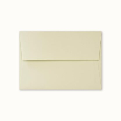 Hellgrünes Couvert für kleine Karten