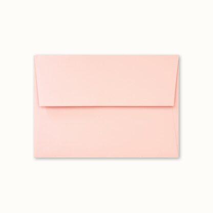 Rosa Couvert für kleine Karten