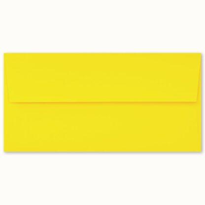 Gelbes Couvert für lange Karten
